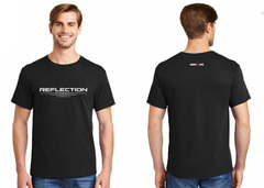 Reflection tshirt black
