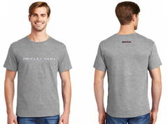 Reflection tshirt grey