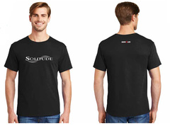 Solitude tshirt black