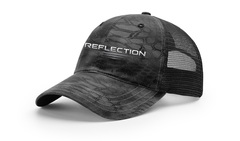 Relfection trucker black