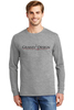 100% Cotton Long Sleeve T-Shirt Light Steel