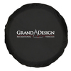 Universal Spare Tire Cover Black