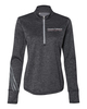 Adidas - Women's Brushed Terry Heather Quarter-Zip