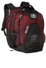 OGIO® - Juggernaut Pack Red /Charcoal