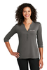 Port Authority ® Ladies UV Choice Pique Henley
